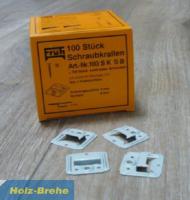 Früh Schraubkrallen f. 3 mm Nutwange (104sksb)-Copy