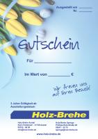 Geschenk Gutschein Ostern
