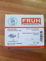Früh Schraubkrallen f. 5 mm Nutwange (105sksb)