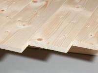 Glattkantbretter Fichte gehobelt 21 x 120 mm