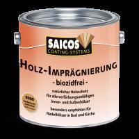 Holz-Imprägnierung biozidfrei-Seidenmatt farblos 9000 10 L