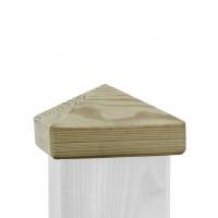 Pfostenkappe Pyramide für 9 x 9 cm Holz 0131