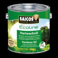 Ecoline Hartwachsöl - Seidenmatt farblos 0,125 L
